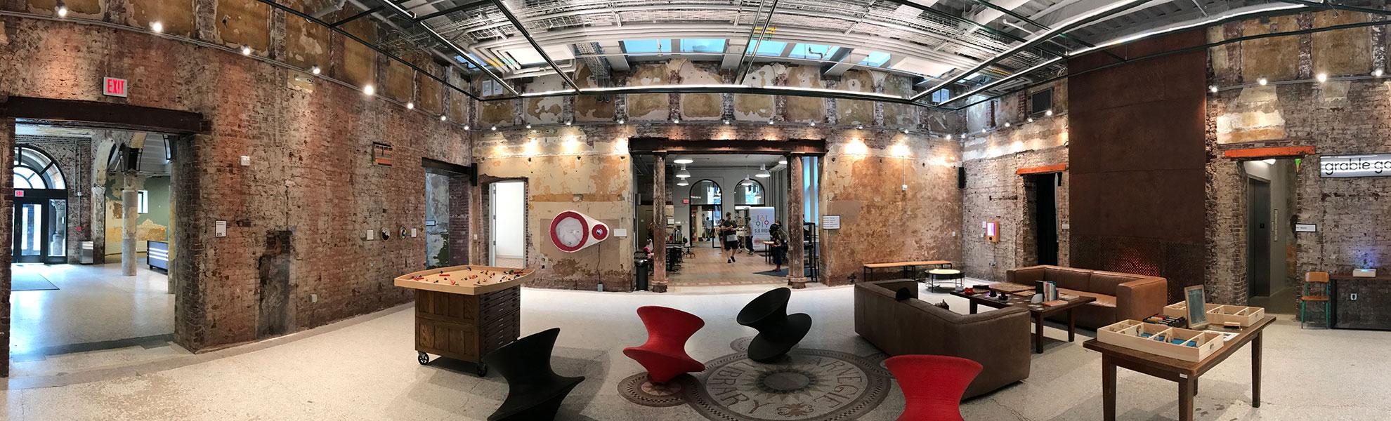 Interior view of Museumlab
