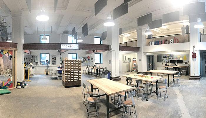 MuseumLab's maker space