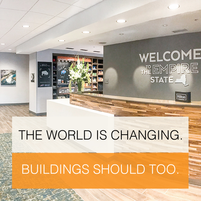 The World is Changing Buildings should too